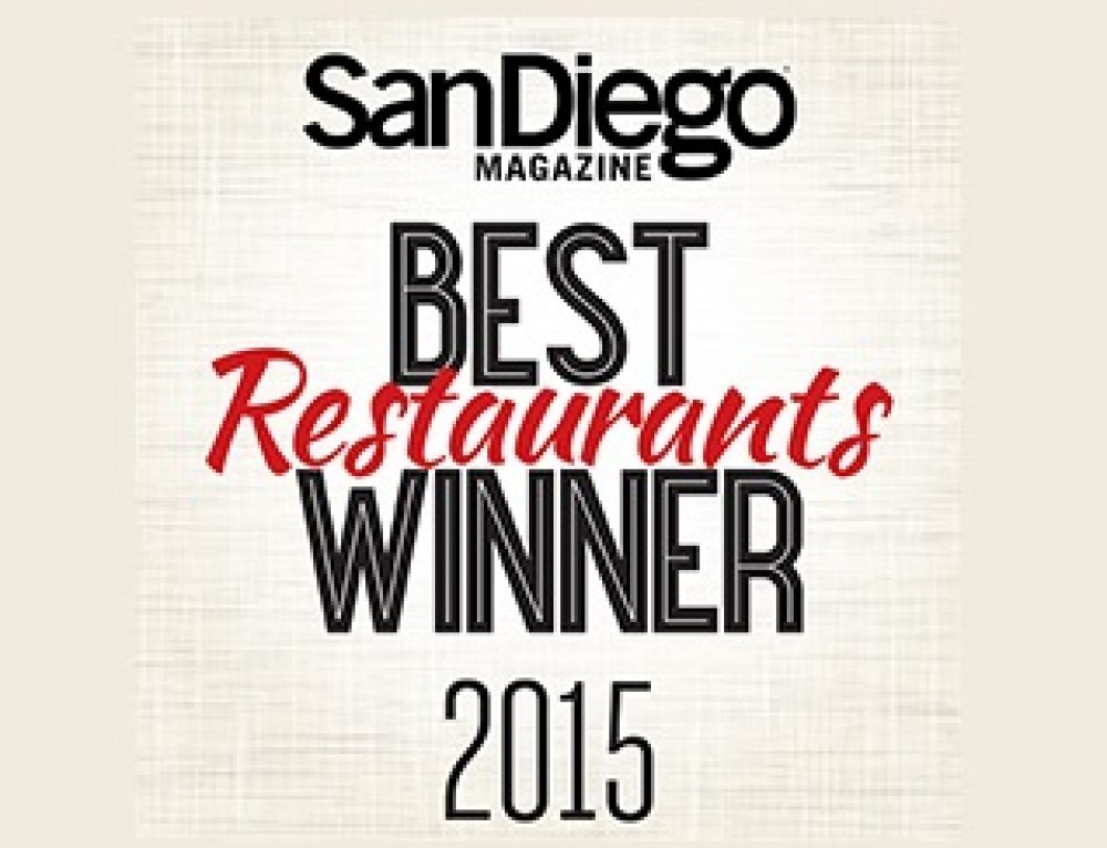 San Diego Magazine – Le Parfait Voted Best Of…