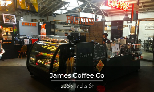 James Coffee little italy Location