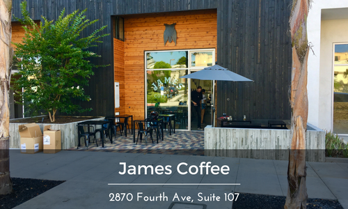 James Coffee bankers hill Location