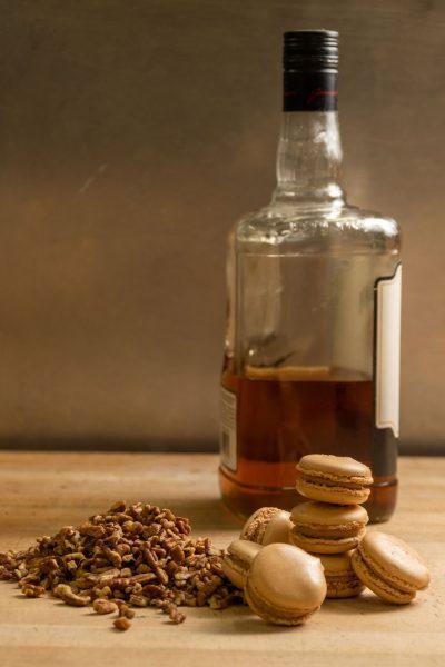 Bourbon Pecan Macaron